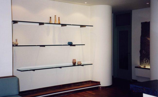 01_Arredo villa_ dettaglio parete
