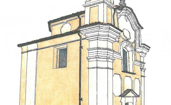 01_Restauro chiesa S.Maria_ disegno prospettico