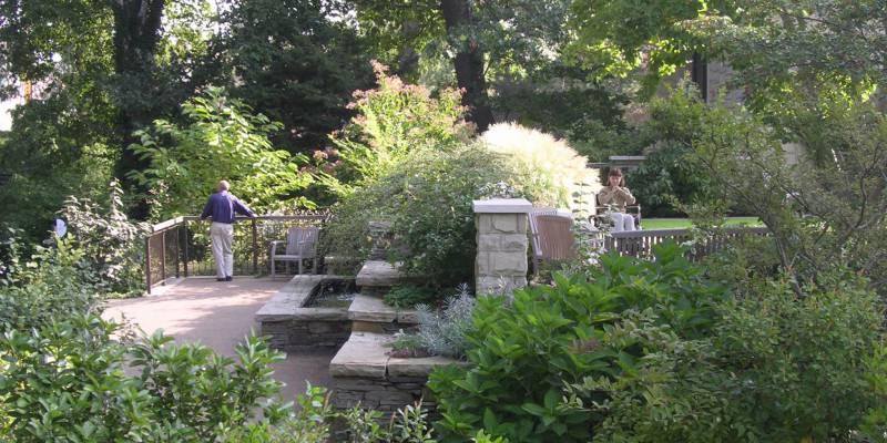 4healing garden_ The Elisabeth & Nona Evans Restorative Garden_ Cleveland_UK_ Design by Dirtworks_photo by ASLA web site