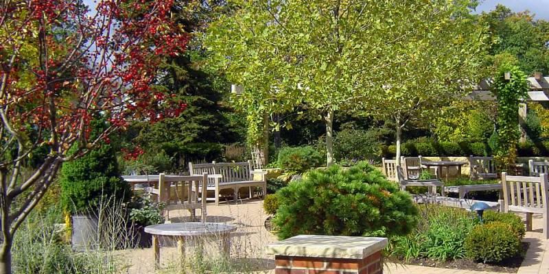 The Hugh Falls Healing Garden