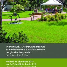 Therapeutic Landscape Design – Salute benessere e socializzazione nei giardini terapeutici