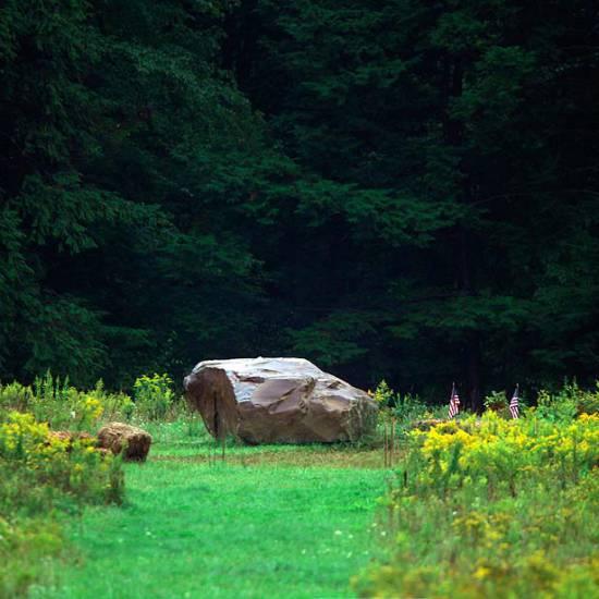 Il conforto della natura al Flight 93 National Memorial