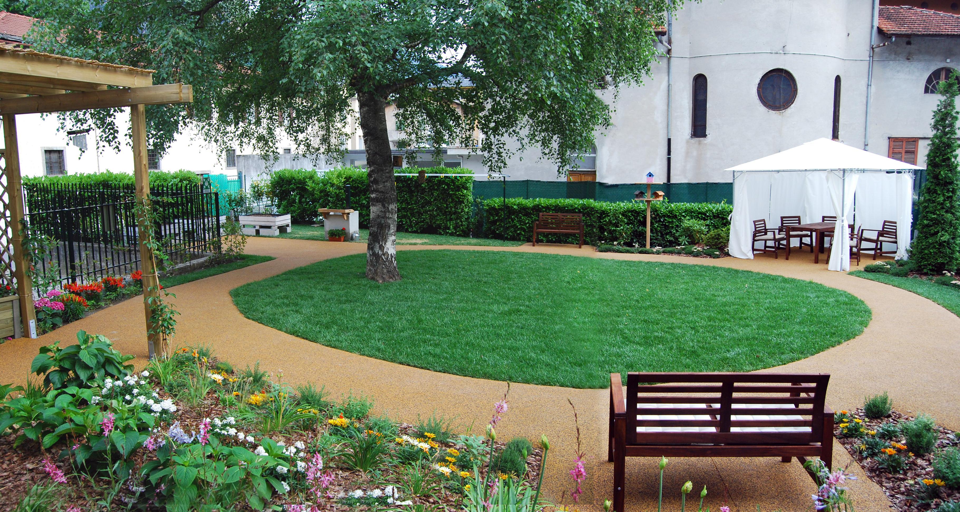 Giardini per le persone affette da alzheimer monica botta - Progetto per giardino ...