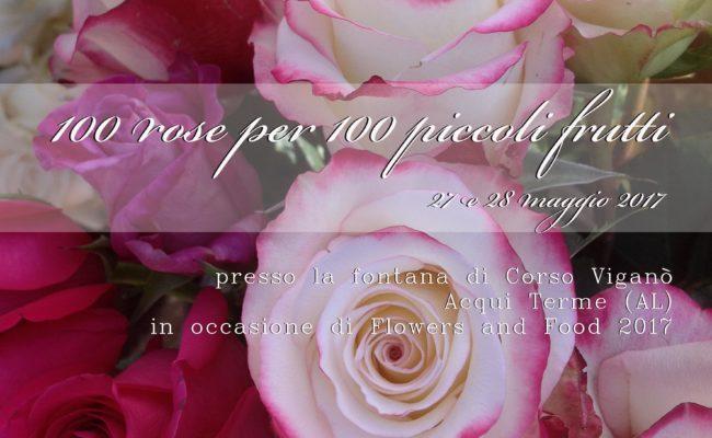 LOCANDINA 100 rose per 100 piccoli frutti_ monica botta