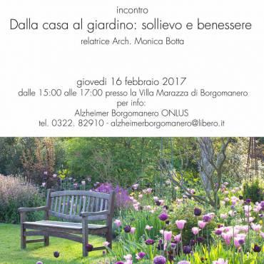 DALLA CASA AL GIARDINO: SOLLIEVO E BENESSERE