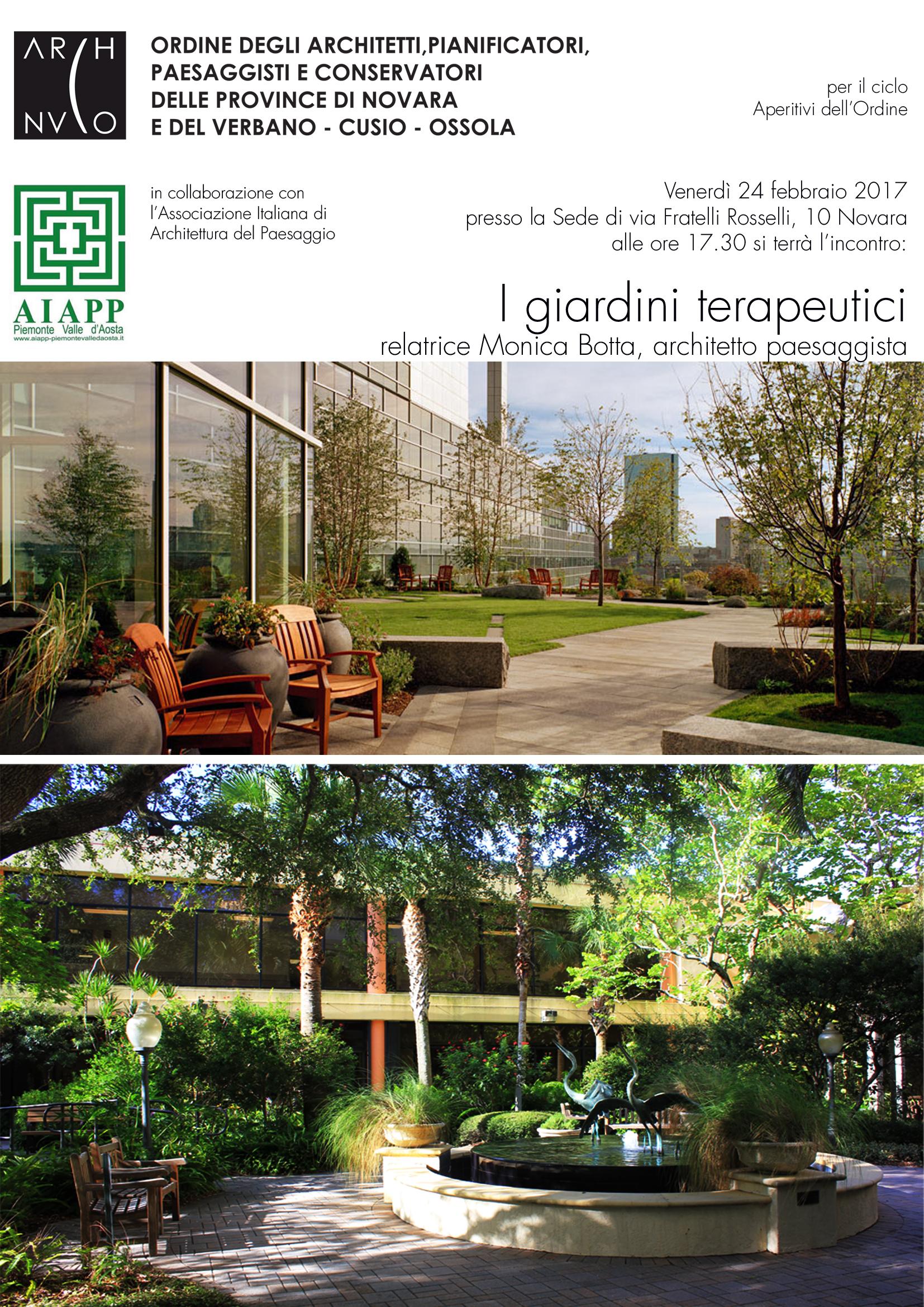 Architetto Di Giardini i giardini terapeutici | monica botta