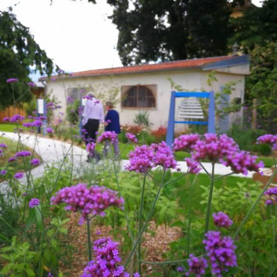 Quali obiettivi curativi di un giardino per malati di Alzheimer?