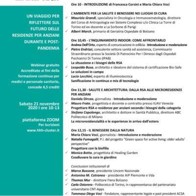 RSA: un dialogo tra il mondo della salute e l'edilizia